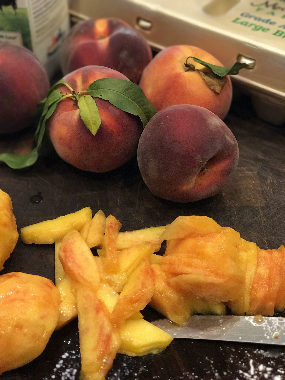 Summertime and the Peach Desserts are Easy…
