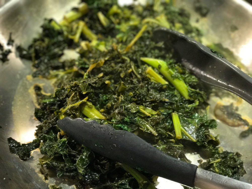 Oh, kale yeah! Make your bowl standout with a deliciously textured super food!