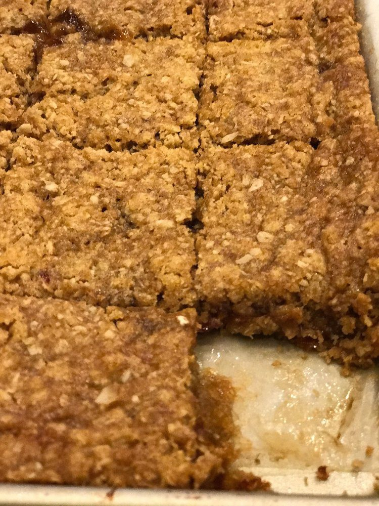 Plum Up the Jam..with These Oatmeal Bars