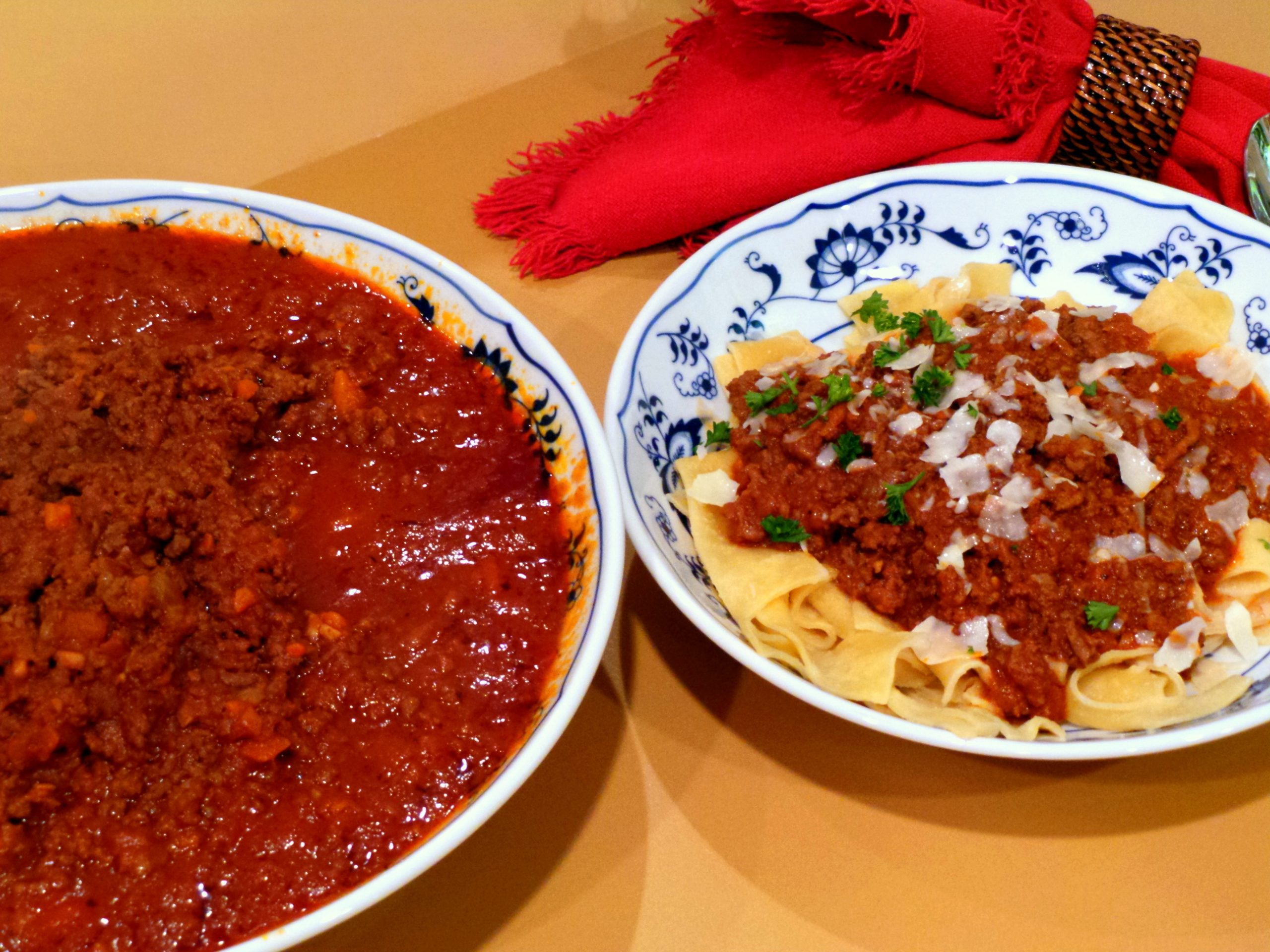 At Home In the Kitchen with Italian Gravy!