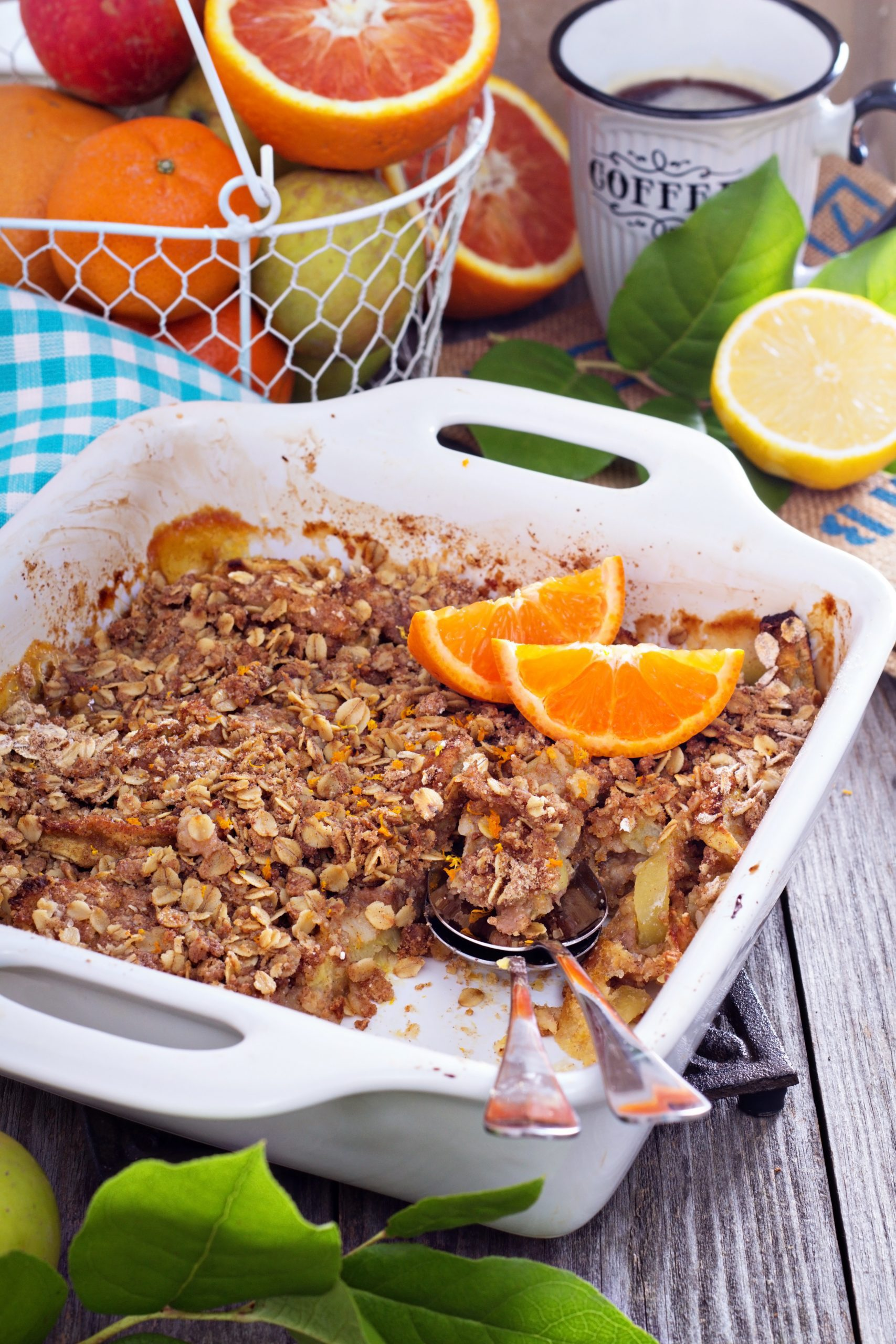 Easy Fruit Crumble recipe for the winter weary